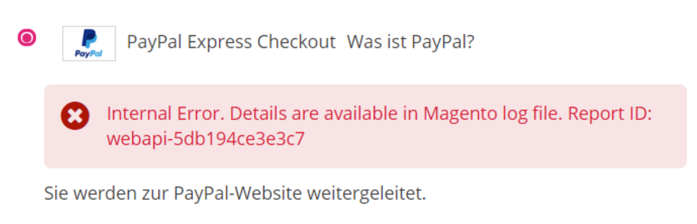 Solved - PayPal Issue in Magento 2.3.3 Checkout 1