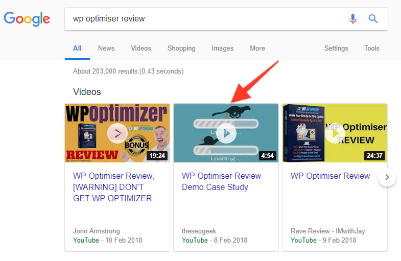 seo autopilot ranking proof